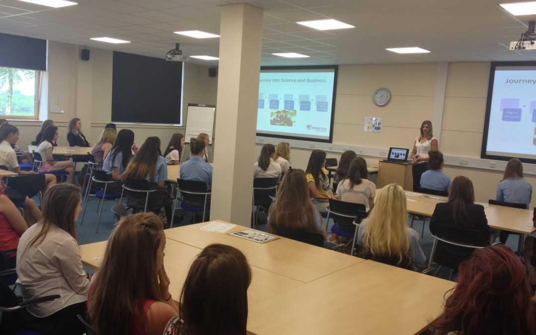 Dr Westgate Speaks at Young Enterprise Lecture