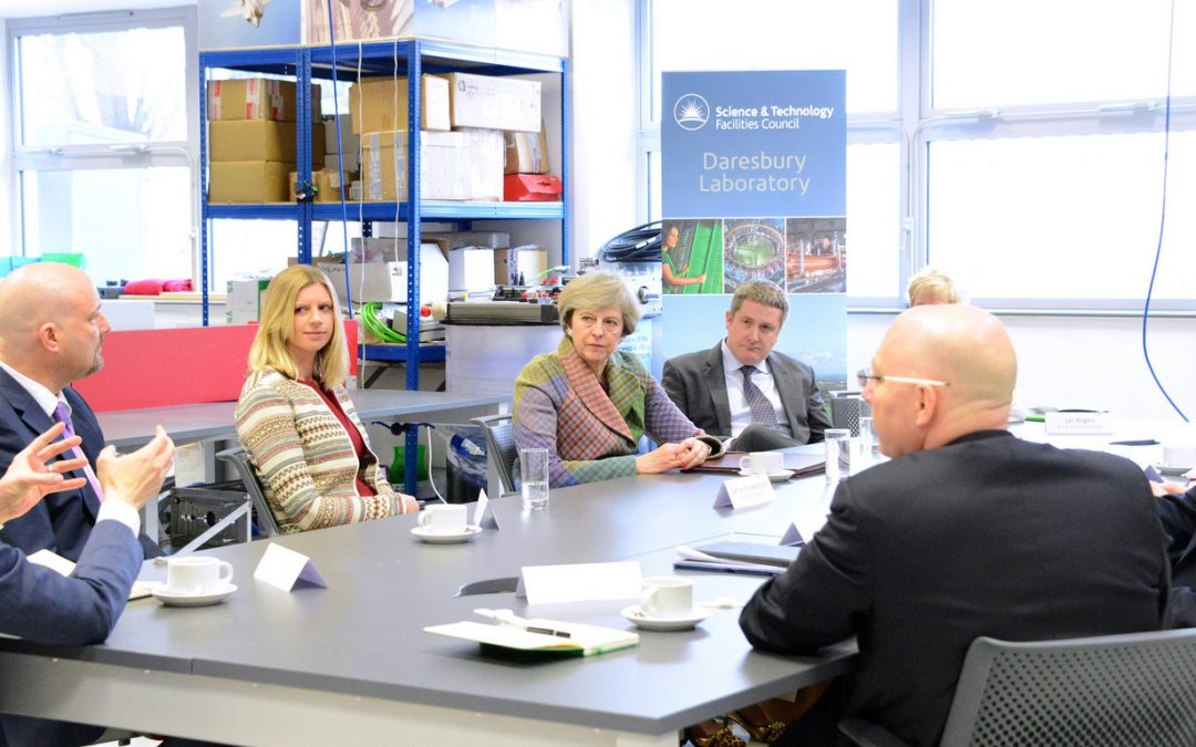 Perfectus Biomed CEO Meets with the Prime Minister Theresa May in Round Table Discussion