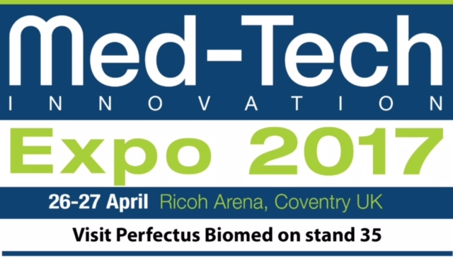 Med-Tech Innovation Expo 2017: Perfectus Biomed to Exhibit
