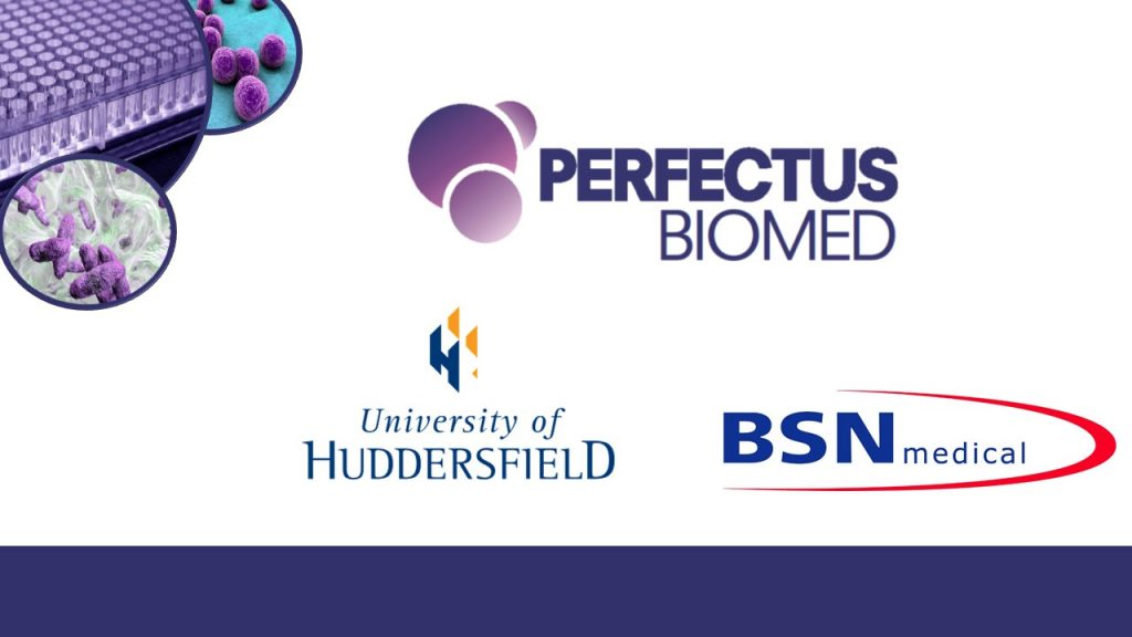 Perfectus Biomed, BSN Medical and the University of Huddersfield collaborate on Innovate UK project!
