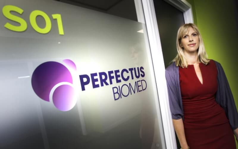 Sci-Tech Daresbury post article on Perfectus Biomed's growth