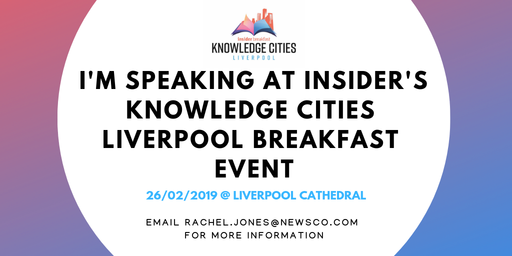 Perfectus Biomed's CEO to speak at Insider's Knowledge Cities Liverpool Event
