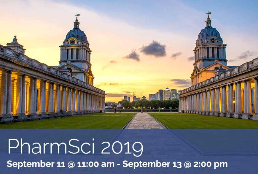 Perfectus Biomed to attend PharmSci 2019
