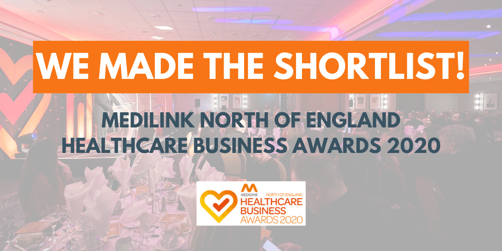 Perfectus Biomed have been shortlisted at the Medilink Healthcare Business Awards 2020!