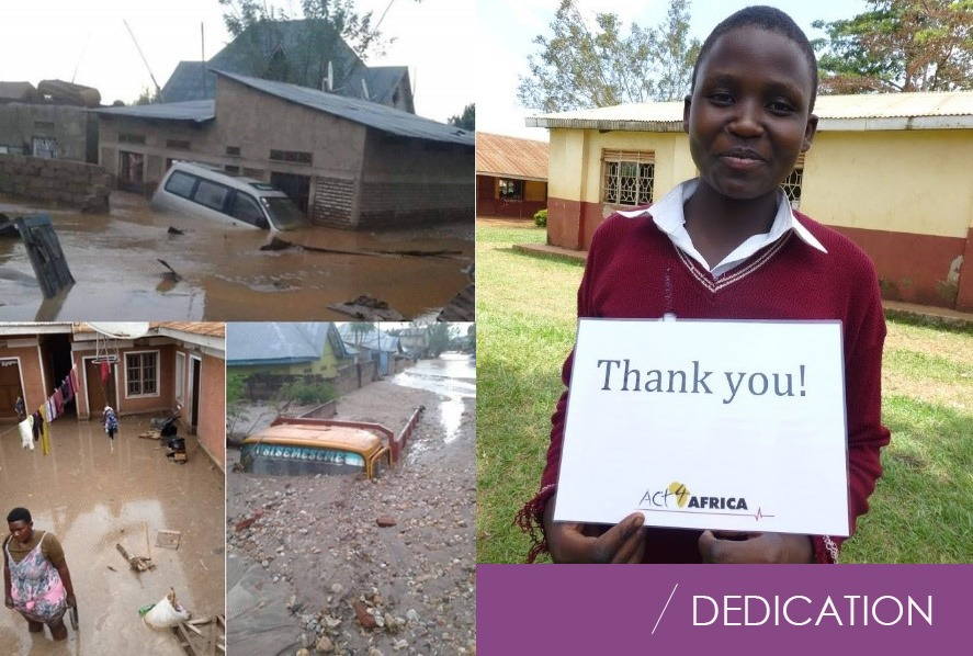 Perfectus Biomed support the 10,000 #CAKESofKINDNESS appeal to help homeless girls and families whose lives have been destroyed by Covid-19 and floods in Uganda.