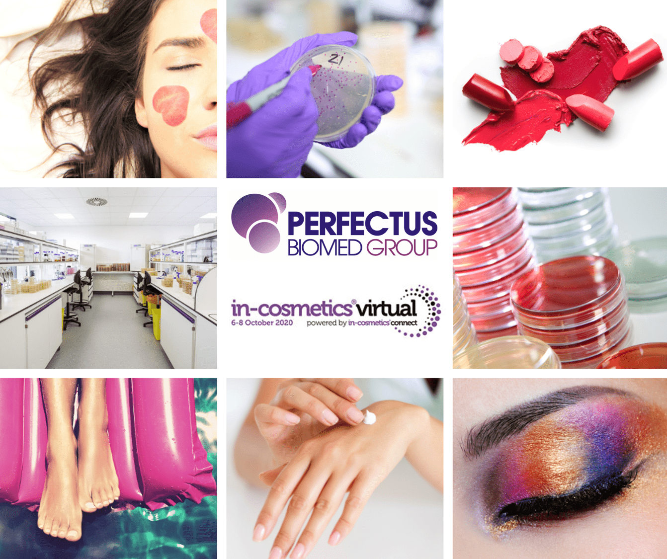 Perfectus Biomed to present at inaugural In Cosmetics Virtual event
