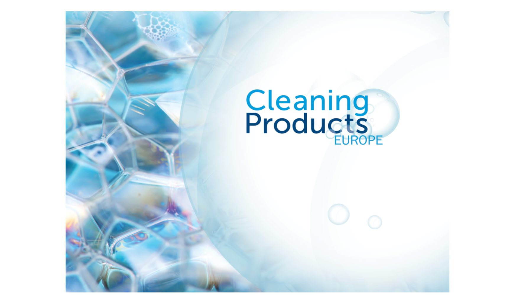 A Date for your Diary – Cleaning Products Europe 2021