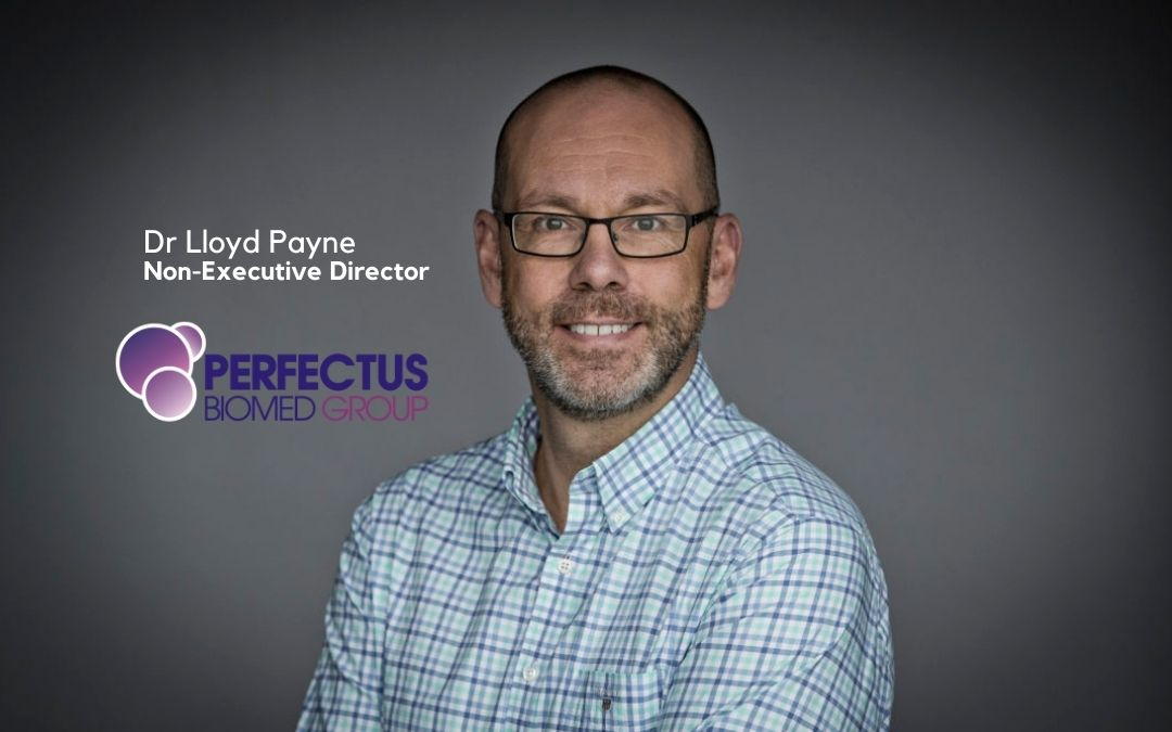Experienced CRO and Biotech executive, Dr Lloyd Payne, joins Perfectus Biomed Group as non-executive director